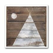 WINTER TIPI #4 ARCHIVAL PRINT
