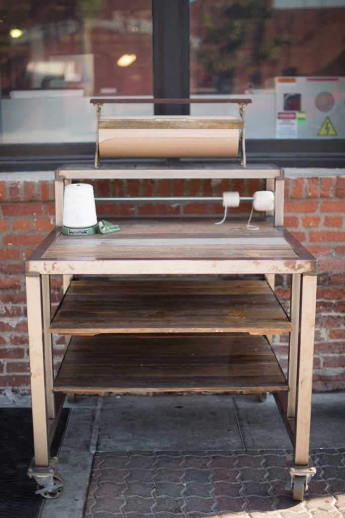 Wrapping Bench