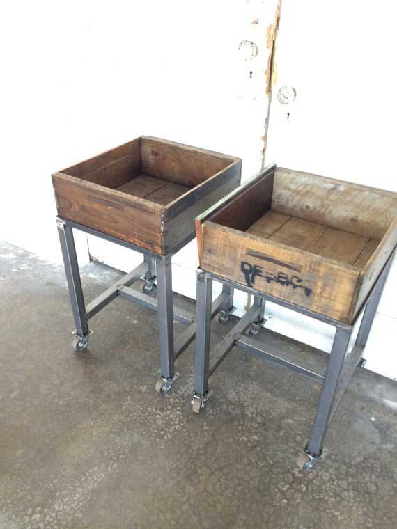 Canning Crate Cart (Pair)