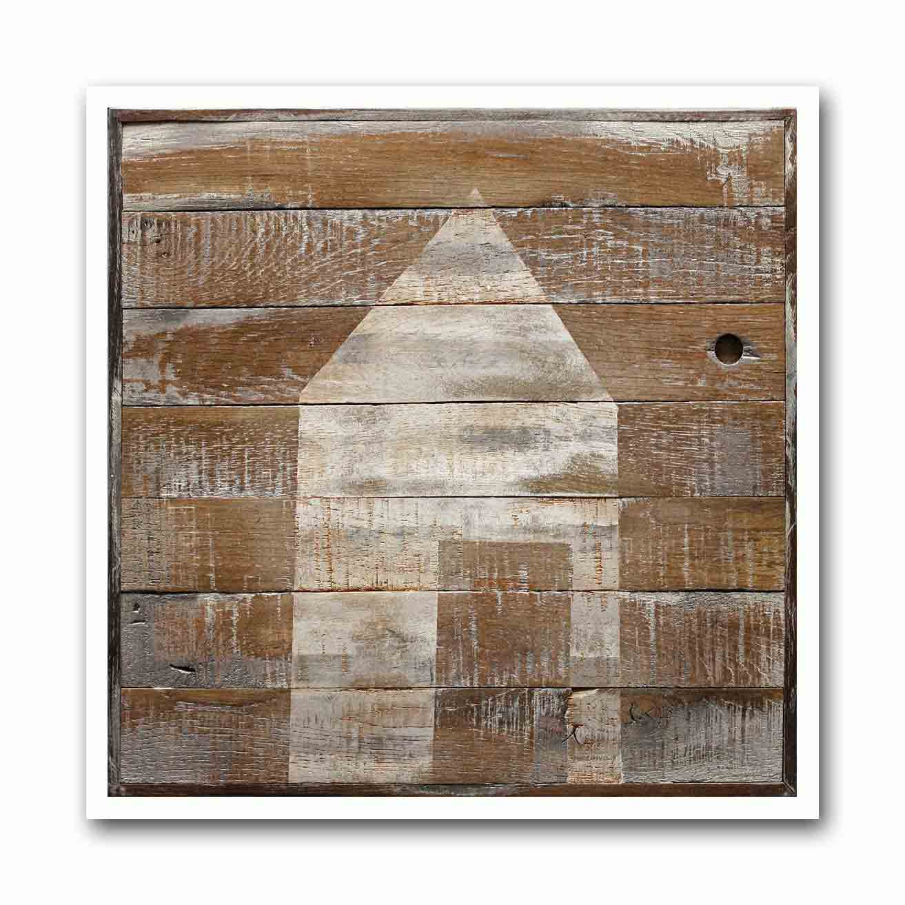 Swiss Wood Shed #1 Archival Print
