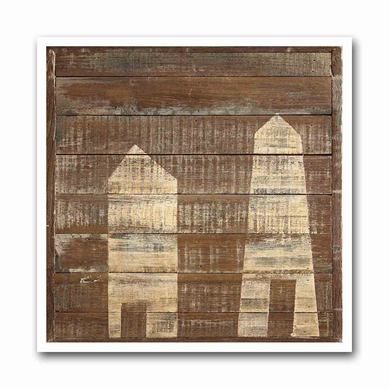 Swiss Wood Shed #2 Archival Print