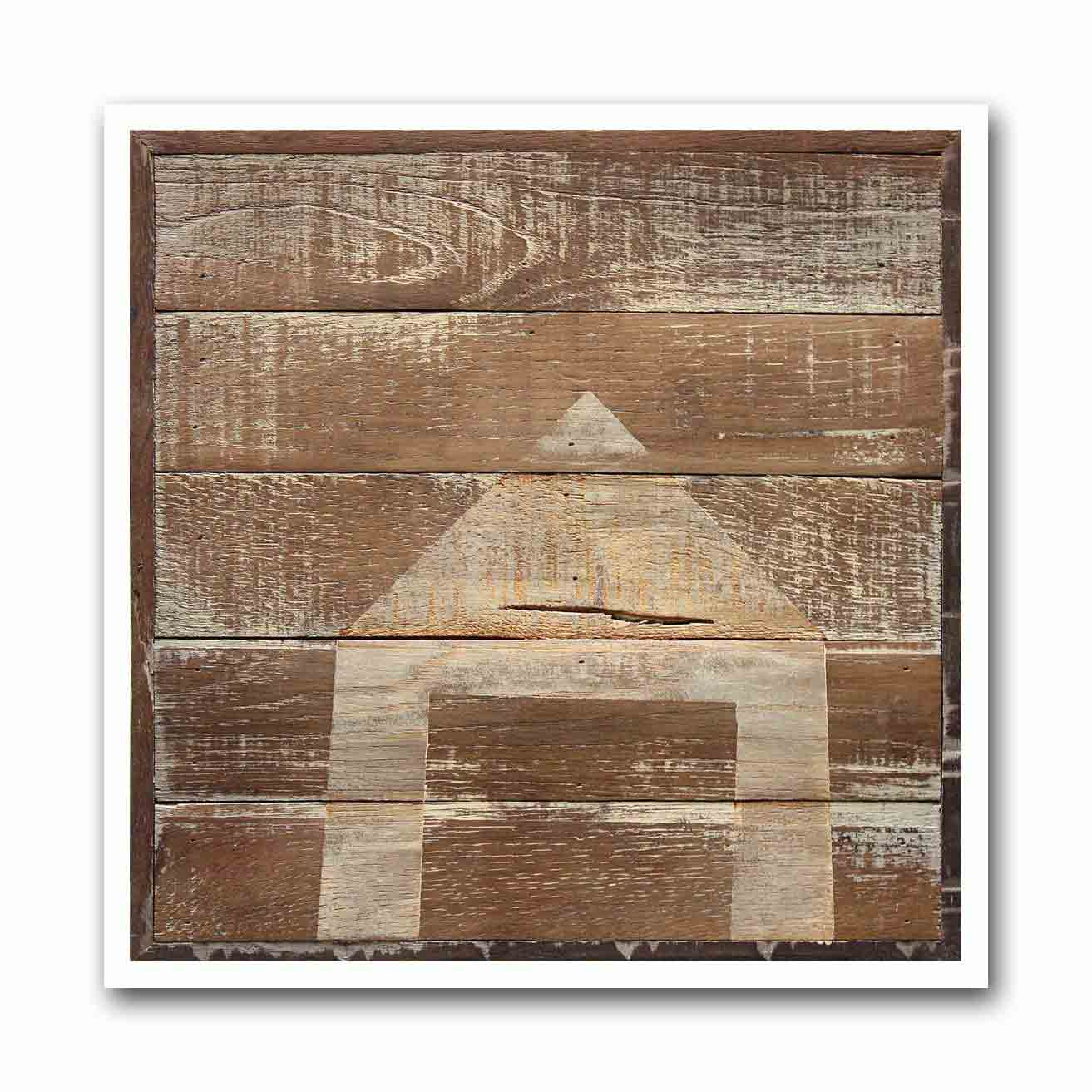 Swiss Wood Shed #5 Archival Print