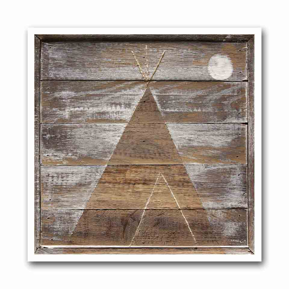 Winter Tipi #1 Archival Print