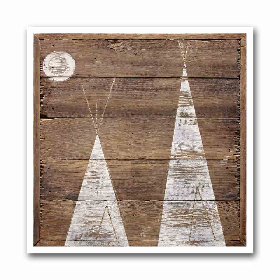 Winter Tipi #3 Archival Print