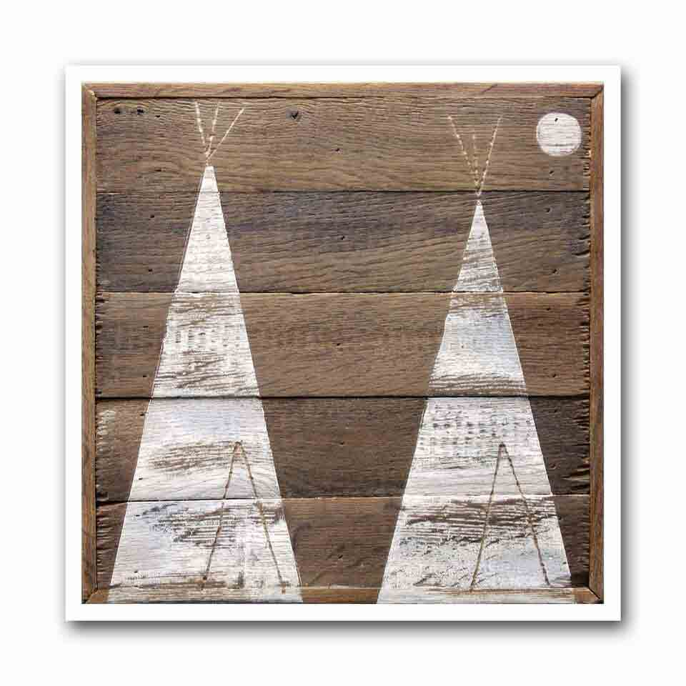 Winter Tipi #5 Archival Print